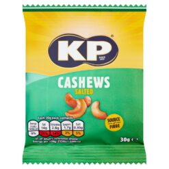 KP Sated Cashew Nuts 30g